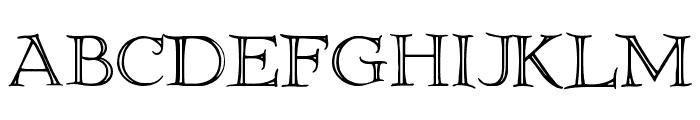 Elliottland J Font LOWERCASE