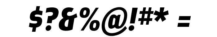 Ellipsoideogram Font OTHER CHARS