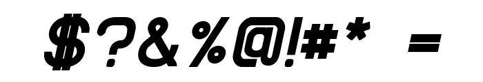 EllipticaBoldItalic Font OTHER CHARS