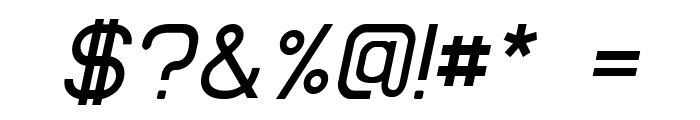 EllipticaItalic Font OTHER CHARS