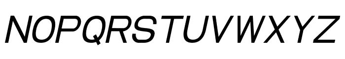 EllipticaItalic Font UPPERCASE