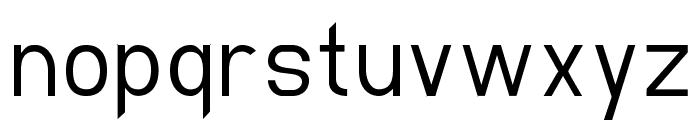 EllipticaLight Font LOWERCASE