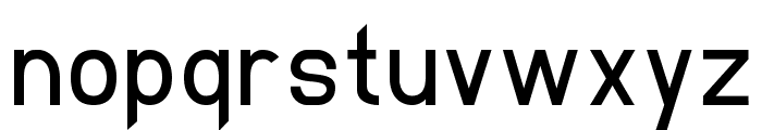 Elliptica Font LOWERCASE