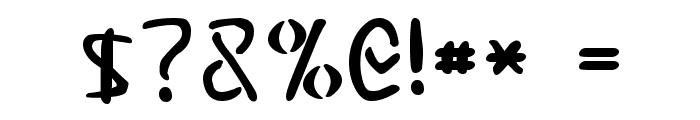Elminster Font OTHER CHARS