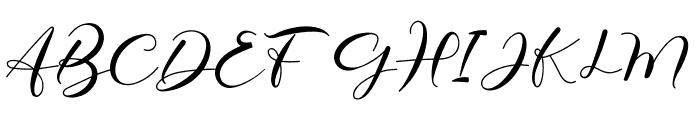 Elmira Font UPPERCASE