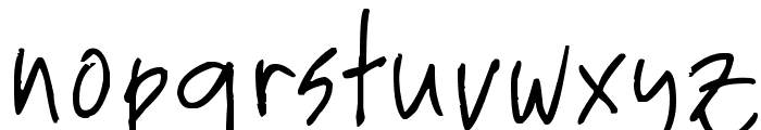 Elmo Font LOWERCASE
