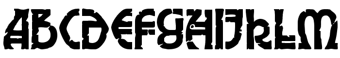 Elric Font UPPERCASE