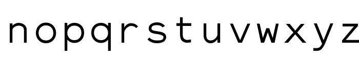 ElroNet Monospace Font LOWERCASE