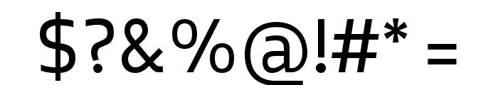 Elsa-Regular Font OTHER CHARS