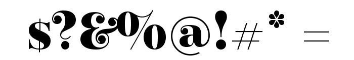 Elsie Black Font OTHER CHARS