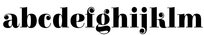 Elsie Black Font LOWERCASE