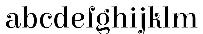 Elsie Regular Font LOWERCASE