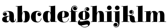 Elsie Swash Caps Black Font LOWERCASE