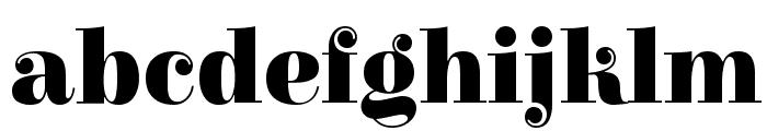 Elsie Swash Caps Blacks Font LOWERCASE
