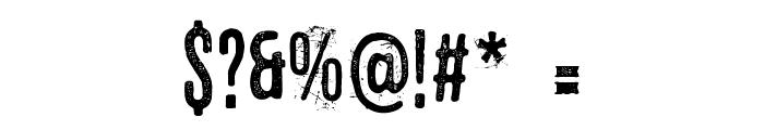 Eltercerhombre-Normal Font OTHER CHARS