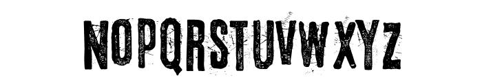 Eltercerhombre-Normal Font UPPERCASE