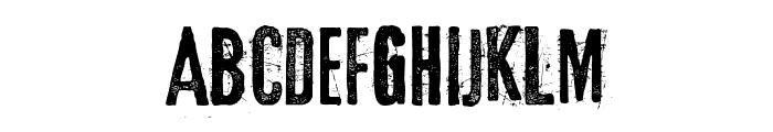 Eltercerhombre-Normal Font LOWERCASE