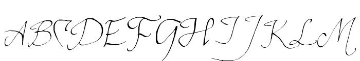 ElvenCommonSpeak Font UPPERCASE
