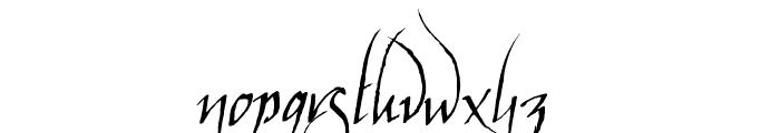 ElvenCommonSpeak Font LOWERCASE