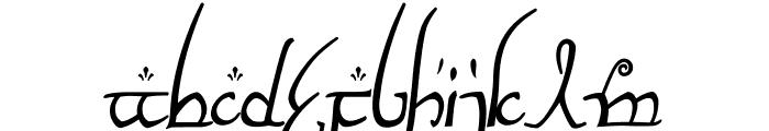 ElvishRingNFI Font UPPERCASE