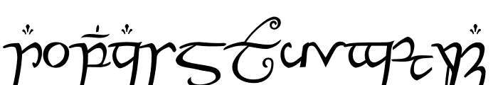 ElvishRingNFI Font LOWERCASE