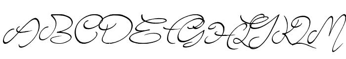 Elyse Font UPPERCASE