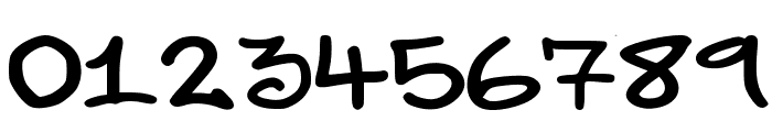 elevenoonehand1 Font OTHER CHARS