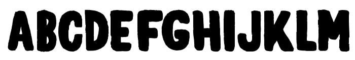 elph_chubba Font UPPERCASE