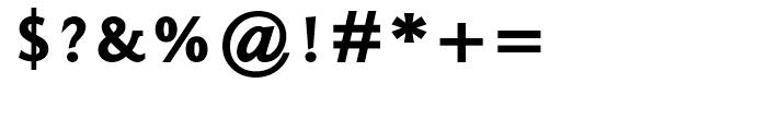 Ela Demiserif Black Caps Font OTHER CHARS