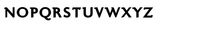 Ela Demiserif Black Caps Font LOWERCASE