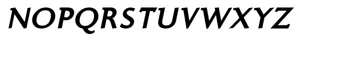 Ela Demiserif Extra Bold Caps Italic Font UPPERCASE