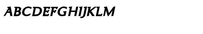 Ela Demiserif Extra Bold Caps Italic Font LOWERCASE
