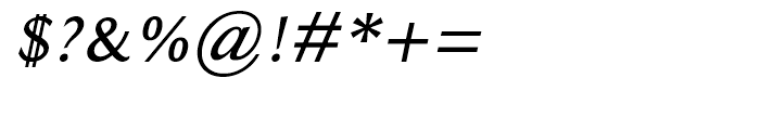 Ela Sans Semi Bold Italic Font OTHER CHARS
