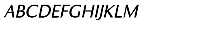 Ela Sans Semi Bold Italic Font UPPERCASE