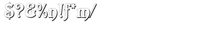 Elara Regular Font OTHER CHARS