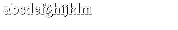 Elara Regular Font LOWERCASE