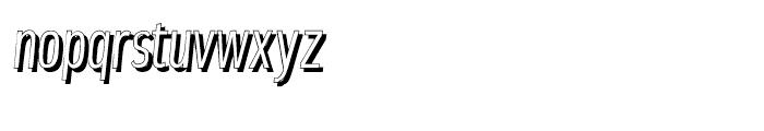 Elegancy Shadow Font LOWERCASE