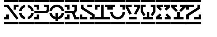 Elemenz Initials Bold Font LOWERCASE