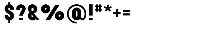 Elephant Black Font OTHER CHARS