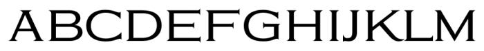 Eleganza MediumPlus Font UPPERCASE