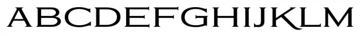 Eleganza MediumPlus Font LOWERCASE