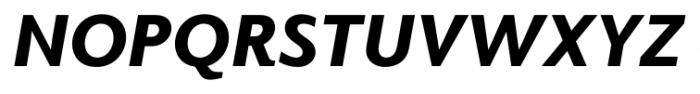 Elido Black Italic Font UPPERCASE