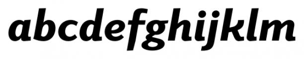 Elido Black Italic Font LOWERCASE
