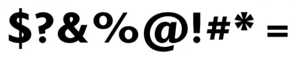 Elido Black Font OTHER CHARS