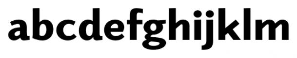Elido Black Font LOWERCASE