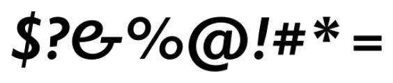 Elido Bold Italic Font OTHER CHARS