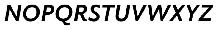 Elido Bold Italic Font UPPERCASE