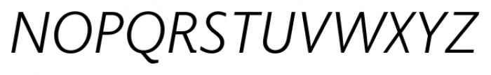 Elido Book Italic Font UPPERCASE