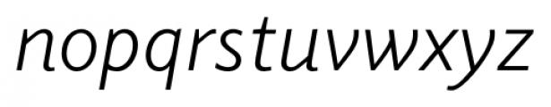 Elido Book Italic Font LOWERCASE