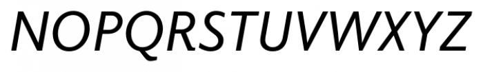 Elido Italic Font UPPERCASE